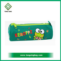 2015 custom New School round design pencil case pencil bag for kids