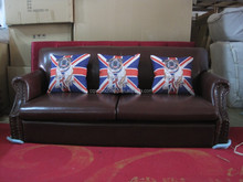 Top Grain Italian Leather Chesterfield Sofa