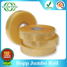 Best Selling Items 1270mm/1280mm Acrylic Glue Bopp Tape Jumbo Roll for Converting