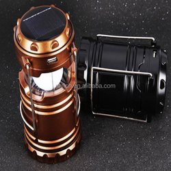 high bright Portable Solar Charger Lantern LED Camping Lantern Rechargeable with Charging Calbe + USB port Hand Crank Light Lamp