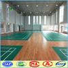 High quality pvc plastic floor used badminton court flooring