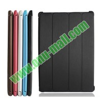 New arrival factory price official Style 4 Floding flip leather case cover for lenovo A3500