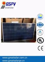Solar cell poly crystalline , 300w solar panels