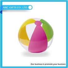 clear pvc cheap wholesale inflated water sports balls