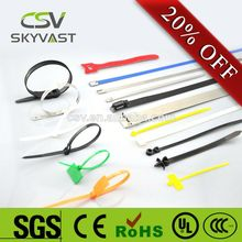 100% PA66 high quality SGS Rohs ce cable ties