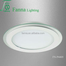 glass led panel light indoor use led recessed panel light, dimmable led panel