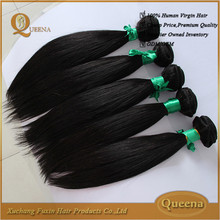 7a 8a raw unprocessed wholesale 100% natural indian human hair price list, FOB 100% natural indian human hair price list
