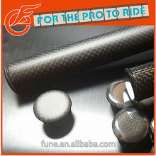 3K Clear coating Bicycle Carbon Handlebar End Cap