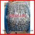 Cadena de acero redonda DIN5685A electro-galvanizada soldada suave