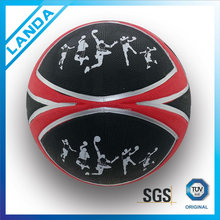 unmixed colours best quality manufacture size 7 indoor outdoor rubber basketball in bulk