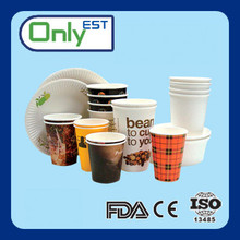 Disposable paper cup for hot drinking/colding drinking at cheap price with top quality
