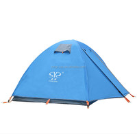 High Quality Aluminum frame 2 person Camping Tent