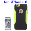 Factory Price 2 in 1 Pattern TPU and Aluminum Cell Phone Case for iPhone 6 Made in China