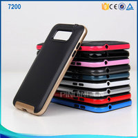Phone accessories PC+TPU Hybrid Combo mobile phone case for samsung 7200