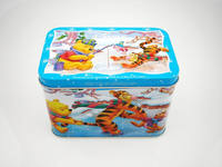 Beautiful High quality Custom Musical Tin Box for Christmas Gift Decoration