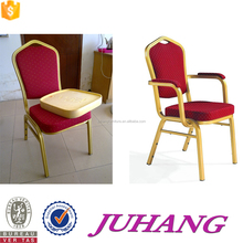 Wholesale metal banquet chair with armrest for ceremony JH-A05