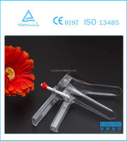 disposable medical vaginal speculum with side lateral screw