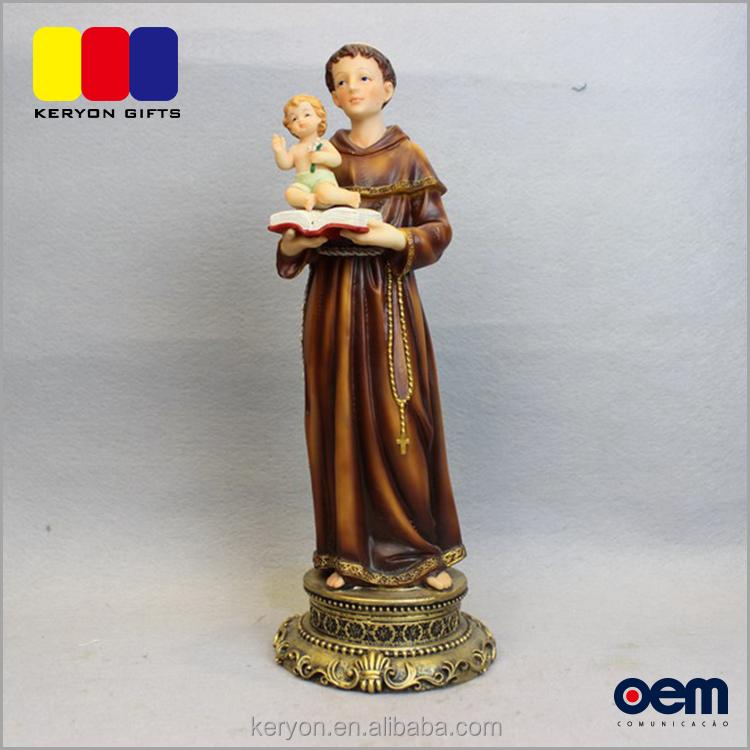 Recuerdos cristianos resina hombre celebración bebé libro estatuas regalo religioso