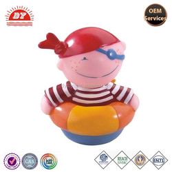ICTI certificated make custom factory pirate squirter toy for the bath