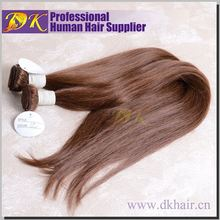 Eurasian Wholesale DK Authentic Straight virgin human hair extension factory price