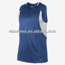 Sublimated basketball tops for youth