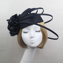 Wholesale Ladies Design Flower Fascinator Hat Chuch/Party Decorate Hats