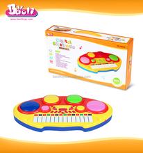 Baoli 5001B 14 Keys Kids Musical Instruments Drum and Organ