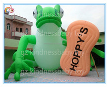 Factory price giant inflatable frog model,inflatable animal for advertising to sale