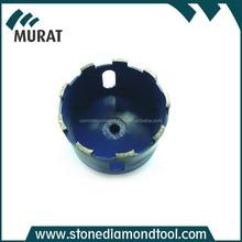 Diamond Drilling Segmented Core Drill Bits Drum Wheel
