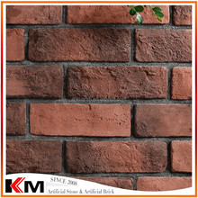 red brick size thin landscaping interior decoration brick size