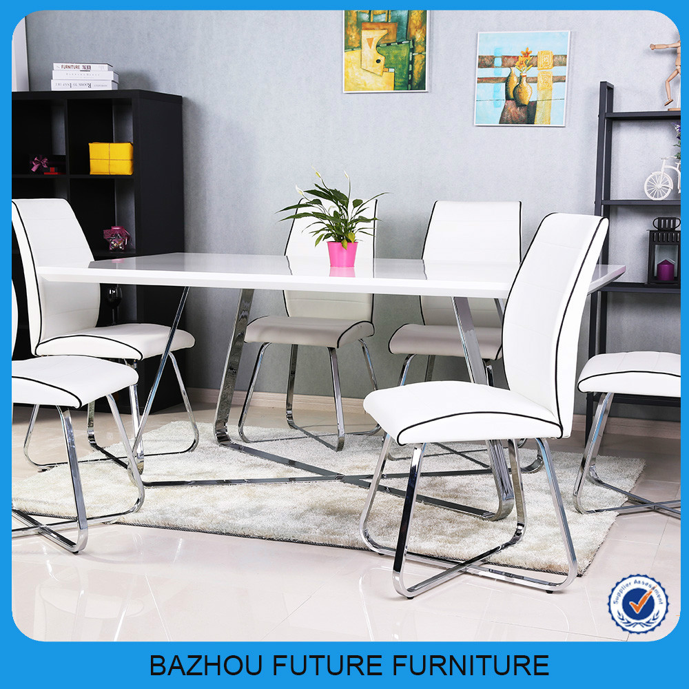 dining roomfurniture cheap white high gloss dining table