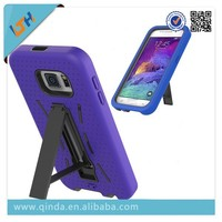 Hybrid Robot Case Silicone+PC Shockproof Back Hard Cover Case with Stander Holder for Samsung galaxy s6