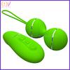 New design wireless remote control vibrating masturbation vibrating massage eggs for women Green