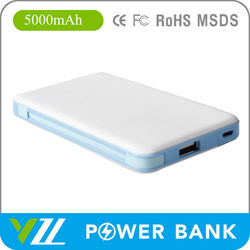 2015 Newest Embedded Data Cable Power Bank5000 mah For Mobile Phone ;Power Bank 5000 mah For Mobile Phone