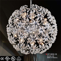 Latest designed round shaped lighting hotel bedroom furniture curtain fabric project