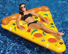 Inflatable Pool Floats Water Pizza Float