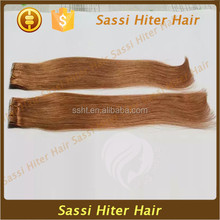 Good quality in Ali brazilian orange remy hair extensions
