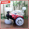 Best gift Hot selling stunt toy rc car with light RCC130831