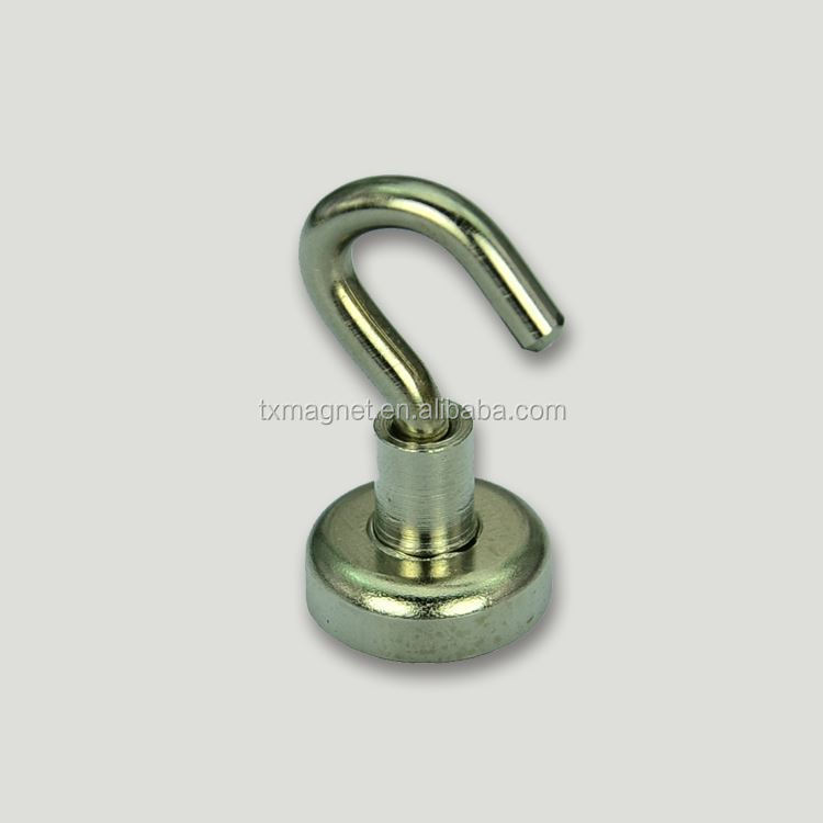 Powerful permanent neodymium magnetic hook buy super for Fishing magnets for sale