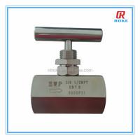 gas valve stem gate valve high pressure needle valves