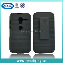 Latest hard plastic clip case for Motorola XT1058 China wholesale