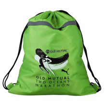 waterproof durable 190T 210D 420D Polyester Drawstring Bag