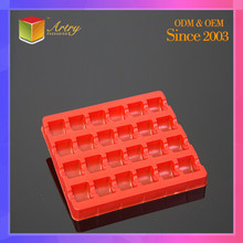 Custom Size Waterproof Compartment Large Plastic Tray