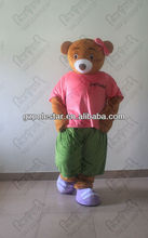 NO.3675 lover walking bear costumes for promotional activity