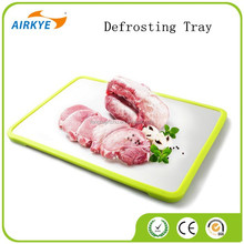 Defrosting Tray quick food preparation defrost meat in half the time great gift