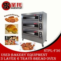 Shetnop STPL-F36 industrial cake oven used bread bakery equipment pizza ovens for sale electric tandoor oven in China
