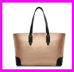 JD853 Trendy novelty light brown handbags shopping tote bag