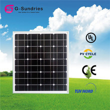 Selling well all over the world good quality 12v 50w mono solar panels