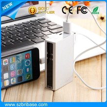 Wireless keyboard Virtual wireless laser keyboard with 5200Mah battery power bank function