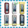 New arrival metal shockproof waterproof aluminum gorilla case cover for IPhone 6